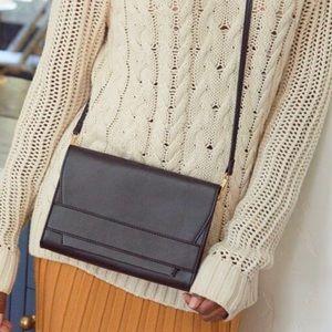 Summer & Rose Black Celine Crossbody Bag